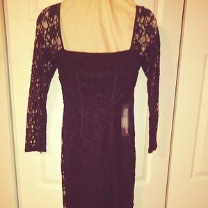 Top Shop Black Lace dress